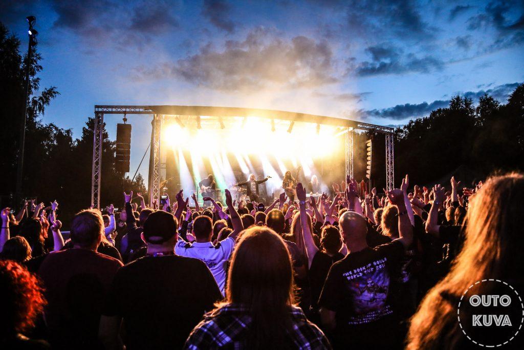 Turku Rockparkin ensimmäiset esiintyjät julki: Stratovarius ja Scar Symmetry tähdittämään festivaalia
