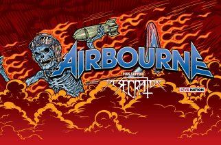 Thrash metal -jyrä Desecrator vahvistunut lämppäriksi Airbournen tulevalle Euroopan-kiertueelle