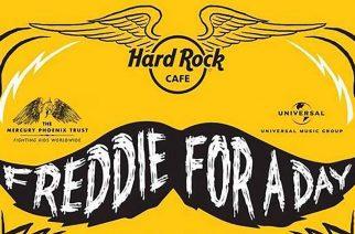 Päivän täydeltä Queenia: Hard Rock Cafe juhlistaa Freddie Mercuryn syntymäpäivää syyskuussa teemapäivän merkeissä