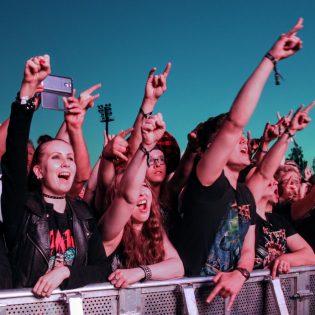 Kuopiossa rockattiin Megadethin ja kovien kotimaisten tahtiin - Katso kuvareportaasi