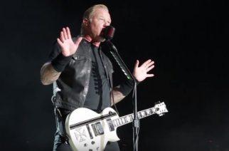 """Metallica esitti ensimmäistä kertaa livenä uuden """"ManUNkind"""" -kappaleensa: livevideo esityksestä katsottavissa"""