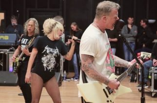 Metallica julkaisi videomateriaalia harjoituksistaan Lady Gagan kanssa ennen kuuluisaa Grammy -gaalaan esiintymistä
