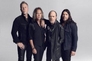 """Metallica julkaisi livevideon """"Master Of Puppets"""" -kappaleesta vuodelta 1986"""