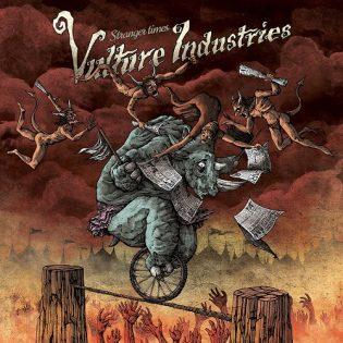 """Perverssin nukkemestarin pään sisällä: Vulture Industriesin """"Stranger Times"""""""
