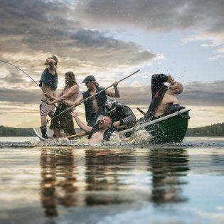 Levyllinen rokkaavaa äärimetallia: Groke's Clanin uusi albumi Kaaoszinen ensisoitossa