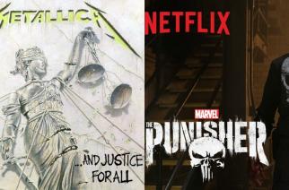 """Metallica esillä Netflixin uuden """"The Punisher"""" -sarjan trailerissa: Marvel -hahmon taustalla pauhaa """"One"""""""
