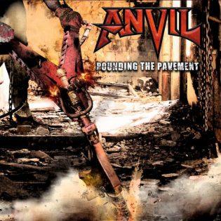 """Tuttua ja turvallista – arviossa Anvilin uutuusalbumi """"Pounding the Pavement"""""""