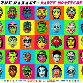 """Karkki ja kepponen: The Haxansin debyyttialbumi """"Party Monsters"""" vaatii tulla soitetuksi Halloween-juhlissa"""