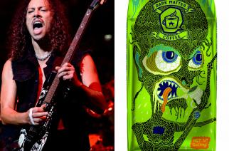 "Kirk Hammett lanseerasi oman ""Ghoul Screamer "" -kahvinsa"