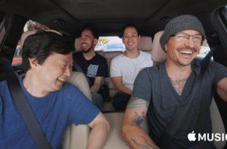 Linkin Parkin vain hieman ennen Chester Benningtonin itsemurhaa kuvattu jakso Carpool Karaokesta katsottavissa