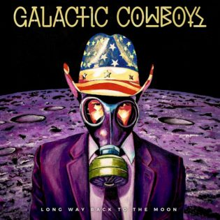 "Galactic Cowboys : ""Long Way Back To The Moon"" – Houstonin melo-thrashaajat laskeutuvat kiertoradaltaan"