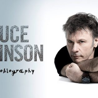 Bruce Dickinson palaa Suomeen keskustelemaan omaelämäkerrastaan