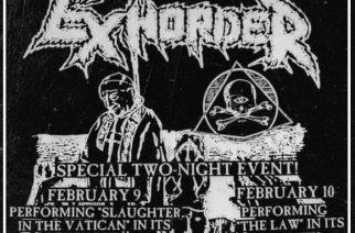 Neworleansilainen thrash-rykmentti Exhorder tekee paluun