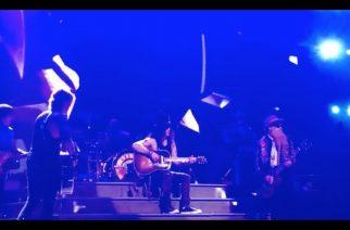 """Guns N' Roses sai lavalle vieraakseen ZZ Topin Billy Gibbonsin – fanien kuvaamaa videota """"Patiencen"""" yhteisesityksestä katsottavissa"""
