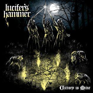 """Chileläistä, vanhan koulukunnan heavy metalia tarjoaa Lucifer's Hammer uudella pienjulkaisulla """"Victory is Mine"""""""