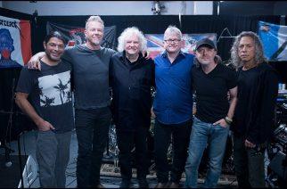 """Metallica ja """"Master Of Puppetsin"""" tuotantotiimi kokoontuivat yhteen muistelemaan klassikkoalbumin tekoa"""
