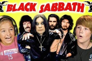 Black Sabbathin musiikin kuuntelu saa lapsissa aikaan erilaisia reaktioita: katso hauska video