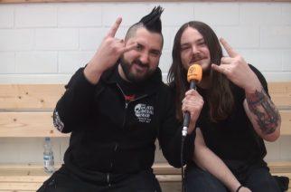 """KaaosTV:n videohaastattelussa Suomessa ensimmäisen kerran konsertoinut Of Mice & Men: """"Tuleva albumimme on tarkoitettu isompia lavoja varten"""""""