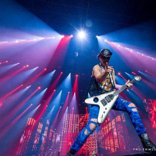 Scorpions Hartwall Arena 27.11.2017