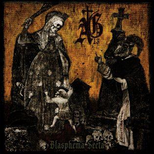 """Kauhistuttavaa okkultismin teemaista doom metallia tarjoaa Abysmal Griefin viides kokopitkä """"Blasphema Secta"""""""