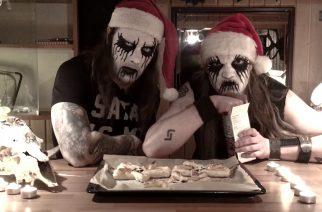 Joulu black metalin hengessä: näin leivot joulun rienaavimmat tortut