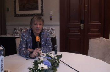 Rehellinen kuvaus omasta elämästä: KaaosTV:n videohaastattelussa Iron Maiden -legenda Bruce Dickinson