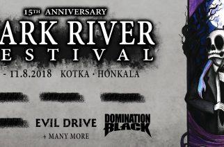 Dark River Festival julkisti ensimmäiset esiintyjät: Mukana ainakin Evil Drive, Domination Black sekä Kaunis Kuolematon