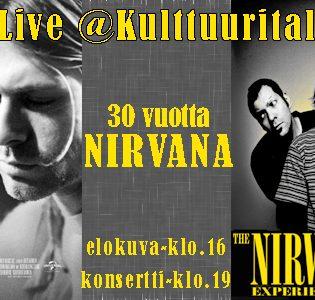 Osallistu kilpailuun ja voita liput kaverisi kanssa The Nirvana Experienceen!
