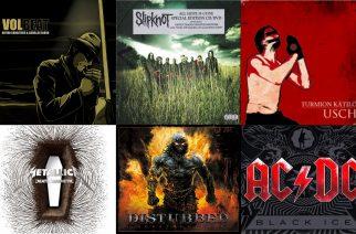 Historian siipien havinaa: Nämä tunnetut rock- ja metallialbumit täyttävät tänä vuonna 10 vuotta