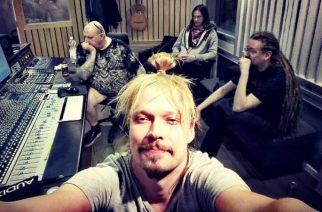 Entiset HIM-muusikot studiossa mystisen uuden projektin kimpussa