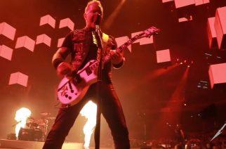 """Ammattilaisten kuvaamaa videota Metallican """"Creeping Death"""" -kappaleen esityksestä Madridissa katsottavissa"""