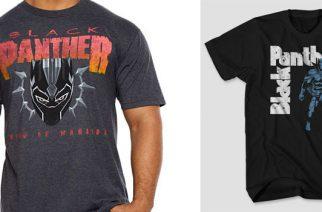 """Marvelin """"Black Panther"""" -elokuvan paidoissa näkyy hyvin tuttua designia Panteran ja Black Sabbathin faneille"""