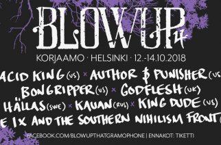 Blowup Vol. 4 valtaa Kulmasalin ja lisää artistien määrää – mukaan mm. Acid King ja Kauan