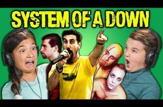 """Lapset reagoivat System Of A Downin musiikkiin: """"Mitä hemmettiä oikein näytitte minulle?"""""""