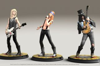 Guns N' Rosesista julkaistaan miniatyyripatsaita tänä kesänä