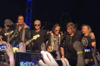 Stone Temple Pilotsin Pasadenan keikalla lavalle astuivat myös Johnny Depp ja Joe Perry