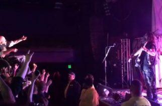 Jälleen upea osoitus metallimusiikin yhteisöllisyydestä: Machine Headin keikkaa pyörätuolissa katsomaan tullut fani sai parhaan paikan yleisöstä