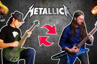 Miltä kuulostaa, jos Metallican basso- ja kitaraosuudet vaihtaa päikseen? – se selviää uudella videolla