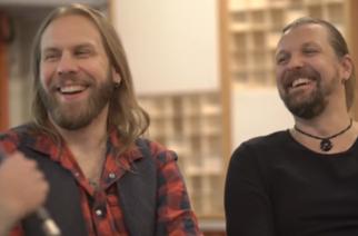 Amorphis KaaosTV:n haastattelussa - Santeri ja Esa