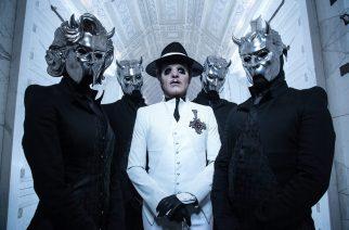 Tobias Forge haluaa Ghost-yhtyeen keulahahmon edustavan paavia jälleen