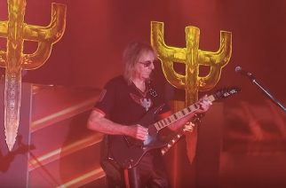 Glenn Tipton nousi Judas Priestin kanssa lavalle Dallasissa