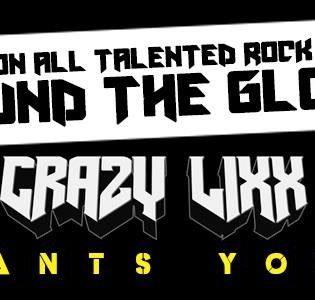 Oletko hyvä rock-laulaja? Ruotsalainen Crazy Lixx hakee taustalaulajia uudelle albumilleen