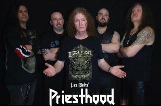 Entiseltä Judas Priestin rumpalilta Les Binksilta uusi yhtye Les Binks Priesthood