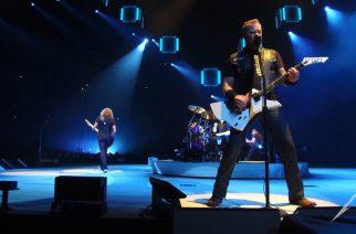 """Metallica hemmottelee suomalaisia fanejaan: katso livevideot """"Creeping Death"""" sekä """"Dream No More"""" -kappaleista Hartwall Areenalta"""
