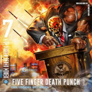 "Raskasta kauneutta – arviossa Five Finger Death Punchin ""And  Justice For None"""