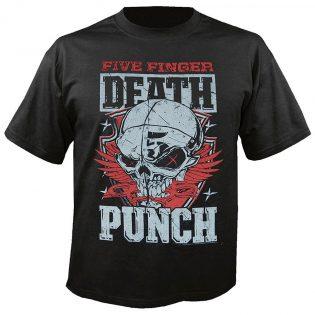 Osallistu kilpailuun ja voita Five Finger Death Punchin uunituore t-paita!