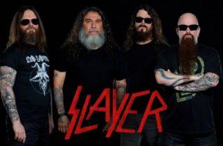 Slayer Euroopan-kiertueelle yhdessä Lamb Of Godin, Anthraxin ja Obituaryn kanssa