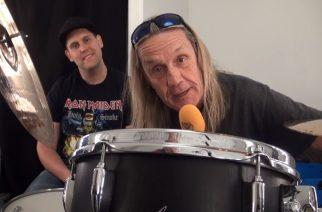 """KaaosTV:n videohaastattelussa Iron Maidenin Nicko McBrain: """"Tätä keikkaa ei kannata missata!"""""""