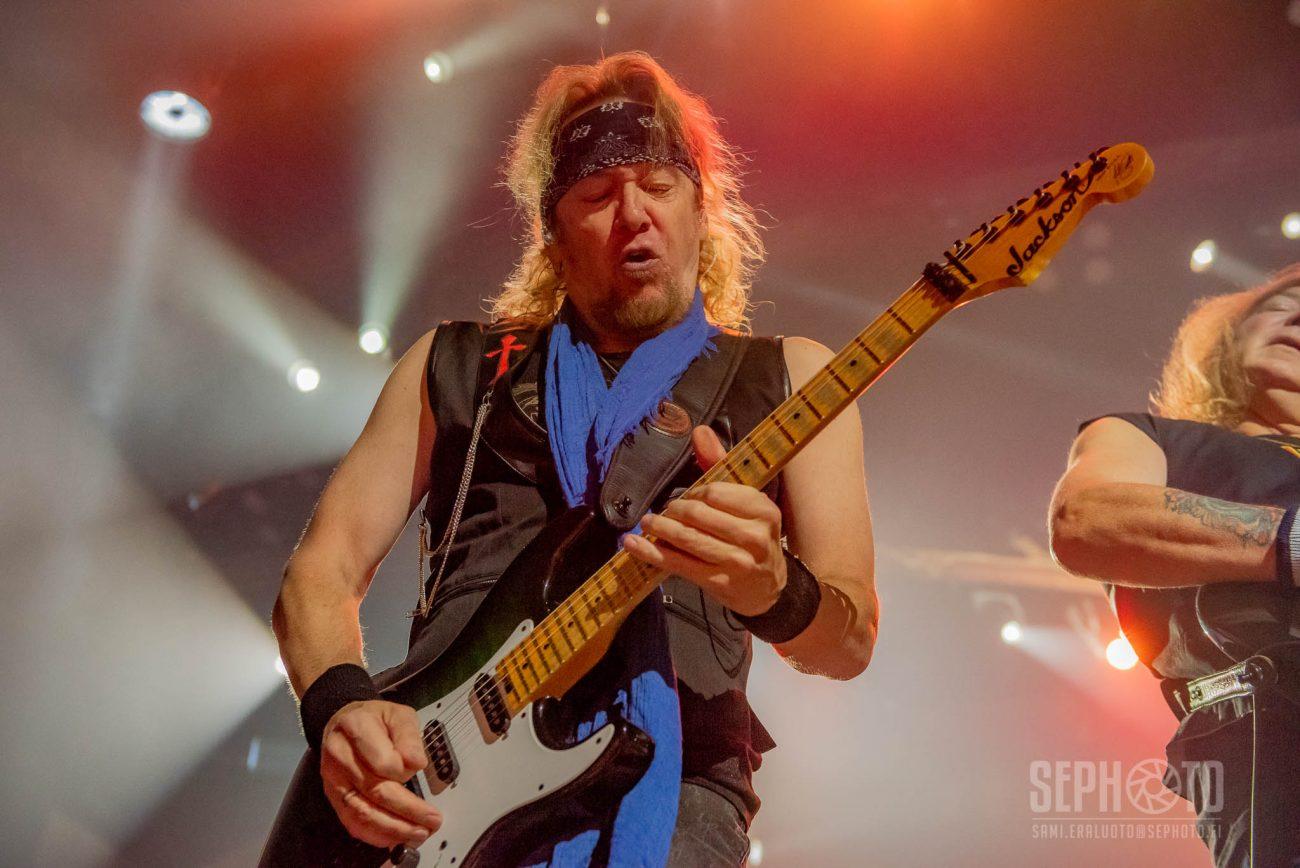 Adrian Smith kertoo, millaista oli lopettaa Iron Maidenissa