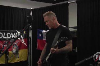 """Metallican James Hetfield lämmittelee soittamalla Ghostin """"Cirice""""-kappaletta"""